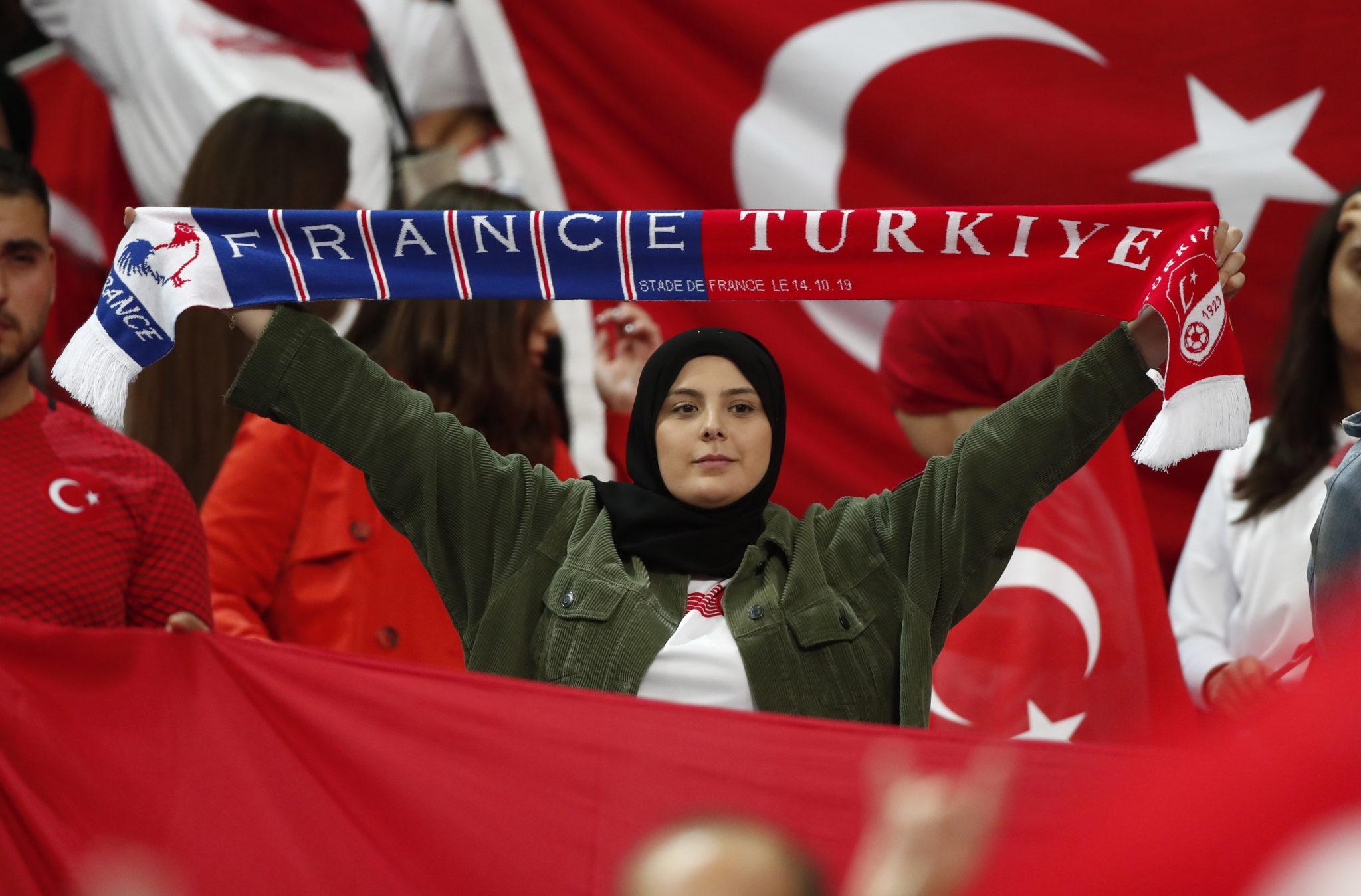 Eliminacje Euro 2020, mecz Francja - Turcja, fot. Ian Langsdon, PAP/EPA