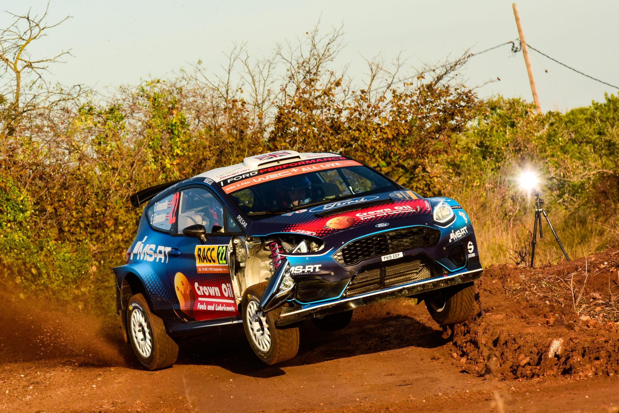 Samochodowy rajd Hiszpanii. fot. EPA/Reporter Images
