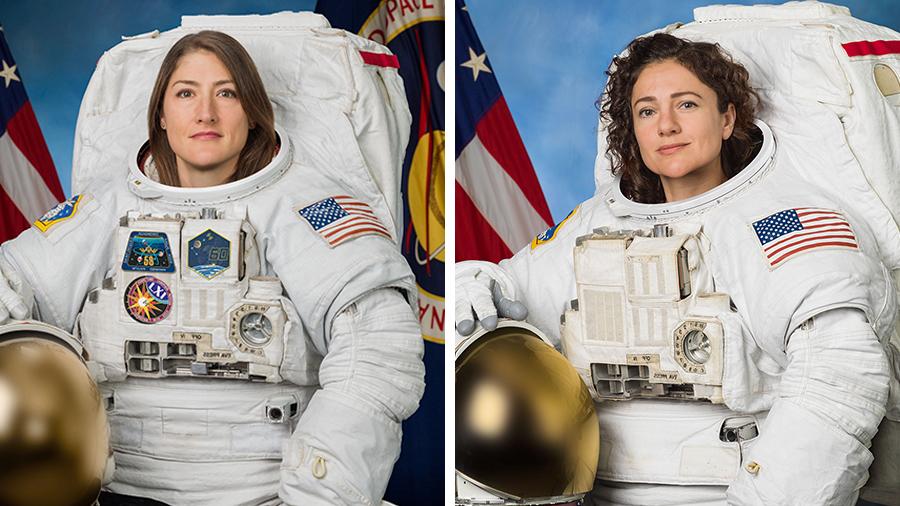 NASA: dzisiaj pierwszy spacer kosmiczny w całkowicie kobiecym składzie. Historia dzieje się na naszych oczach