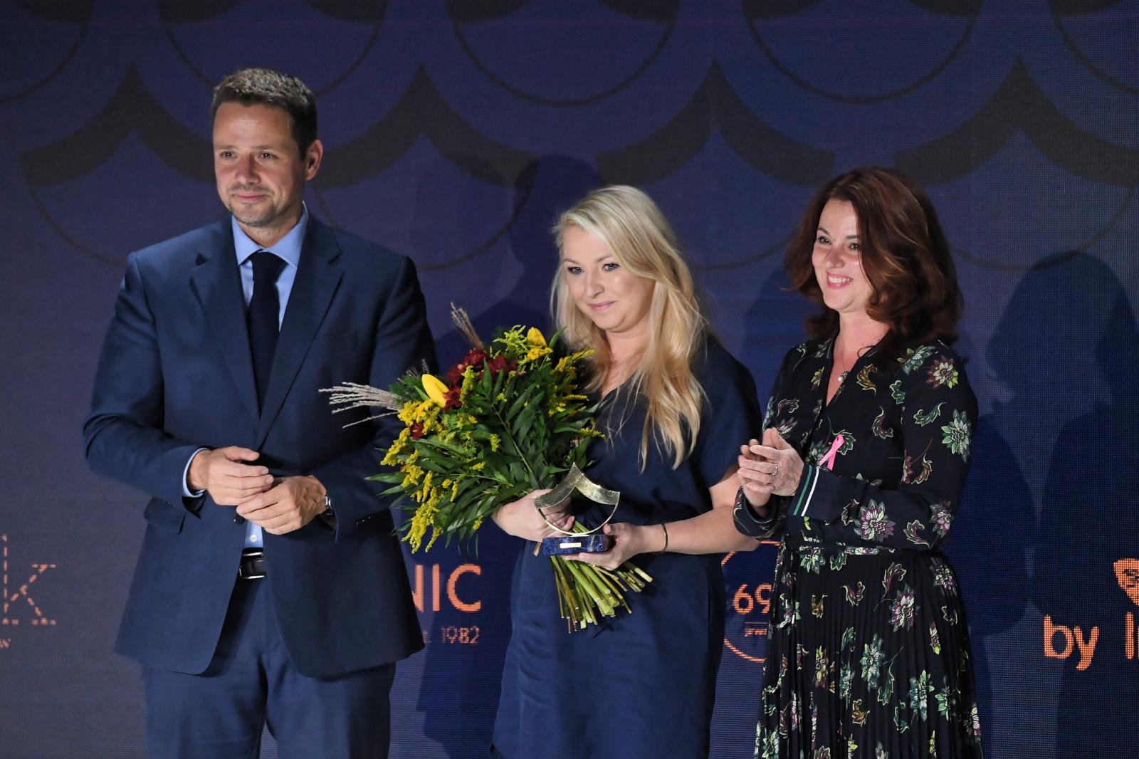 Nicole Sochacki-Wójcicka została Warszawianką Roku/Radek Pietruszka