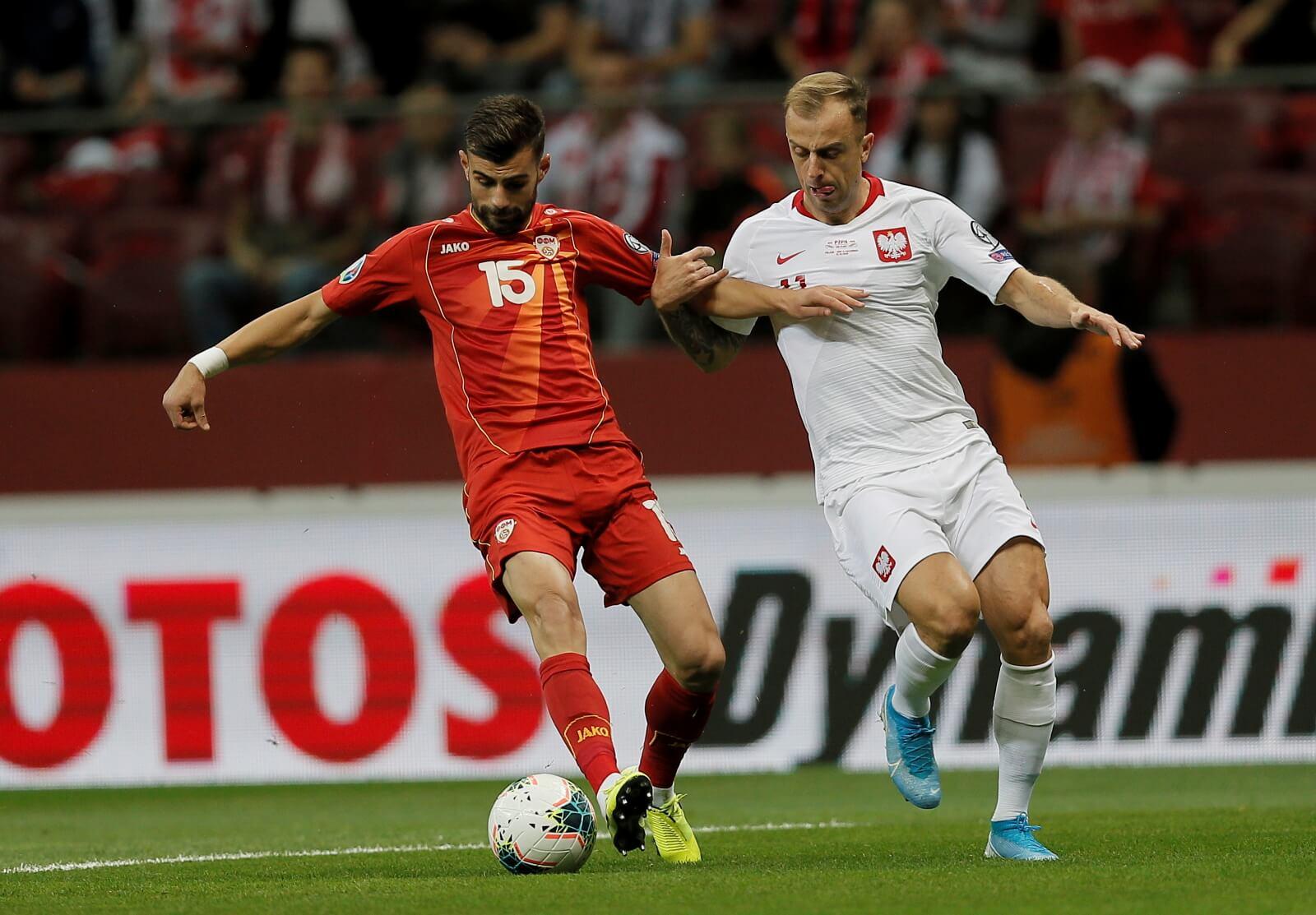 Mecz Polska - Macedonia Północna fot. PAP/Leszek Szymański