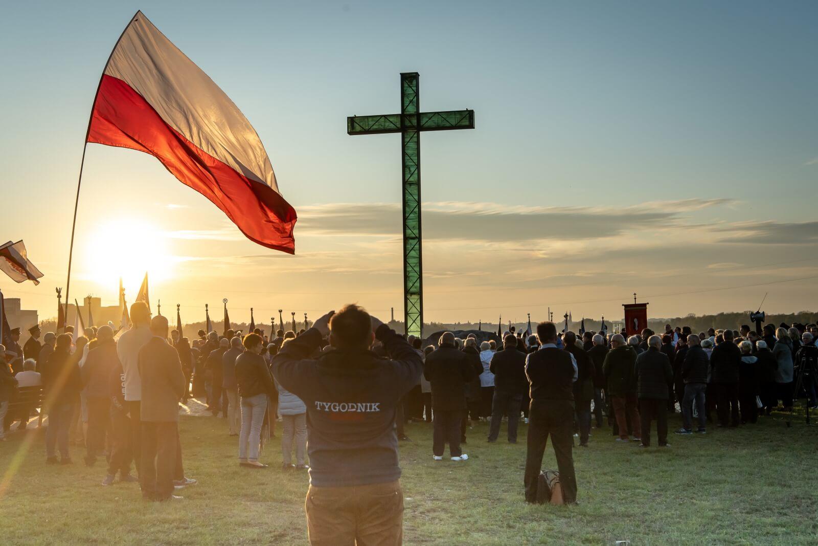 Rozpoczęły się obchody 35. rocznicy śmierći bł. ks. Popiełuszki fot. PAP/Tytus Żmijewski
