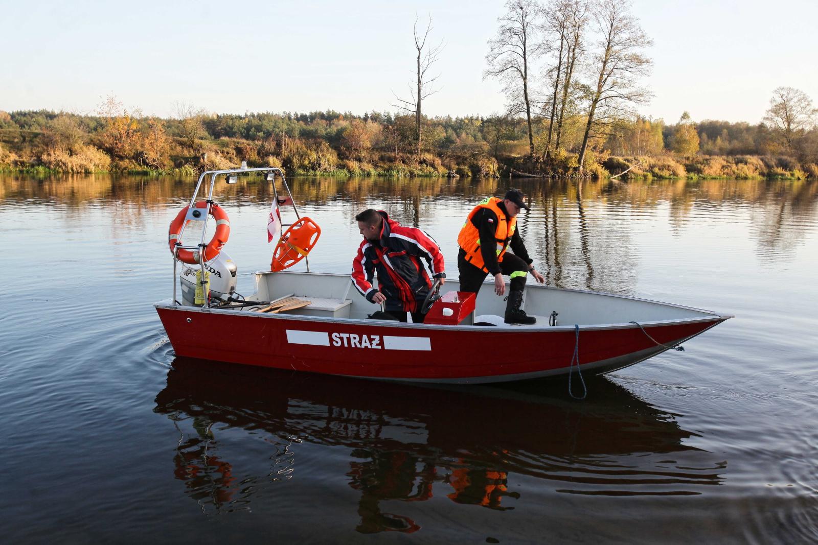 Oczyszczanie rzeki fot. PAP/Mateusz Marek