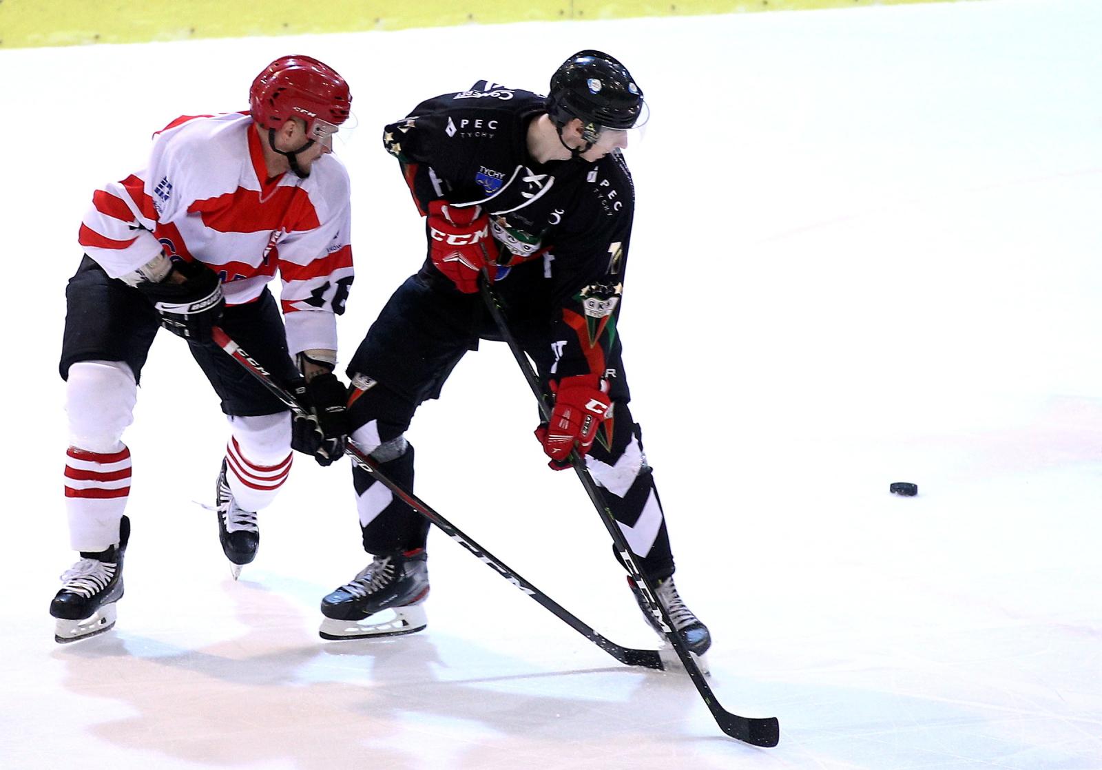 Zawodowy hokejowe w Krakowie PAP/£ukasz G¹gulski