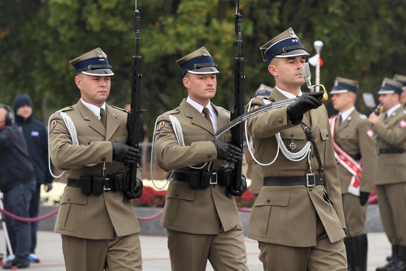Święto sztabu generelanego w Polsce fot.  PAP/Radek Pietruszka