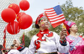 China's National Day. fot. EPA/JUSTIN LANE