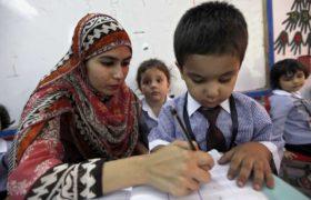 Szkoła w Pakistanie fot. EPA/BILAWAL ARBAB