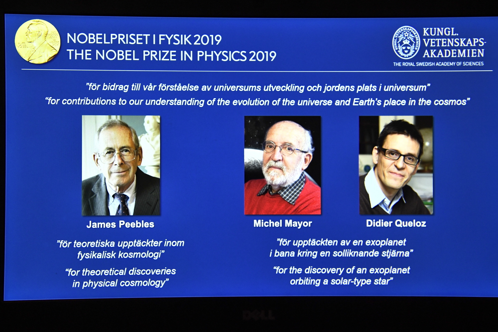 Nobel z fizyki 2019