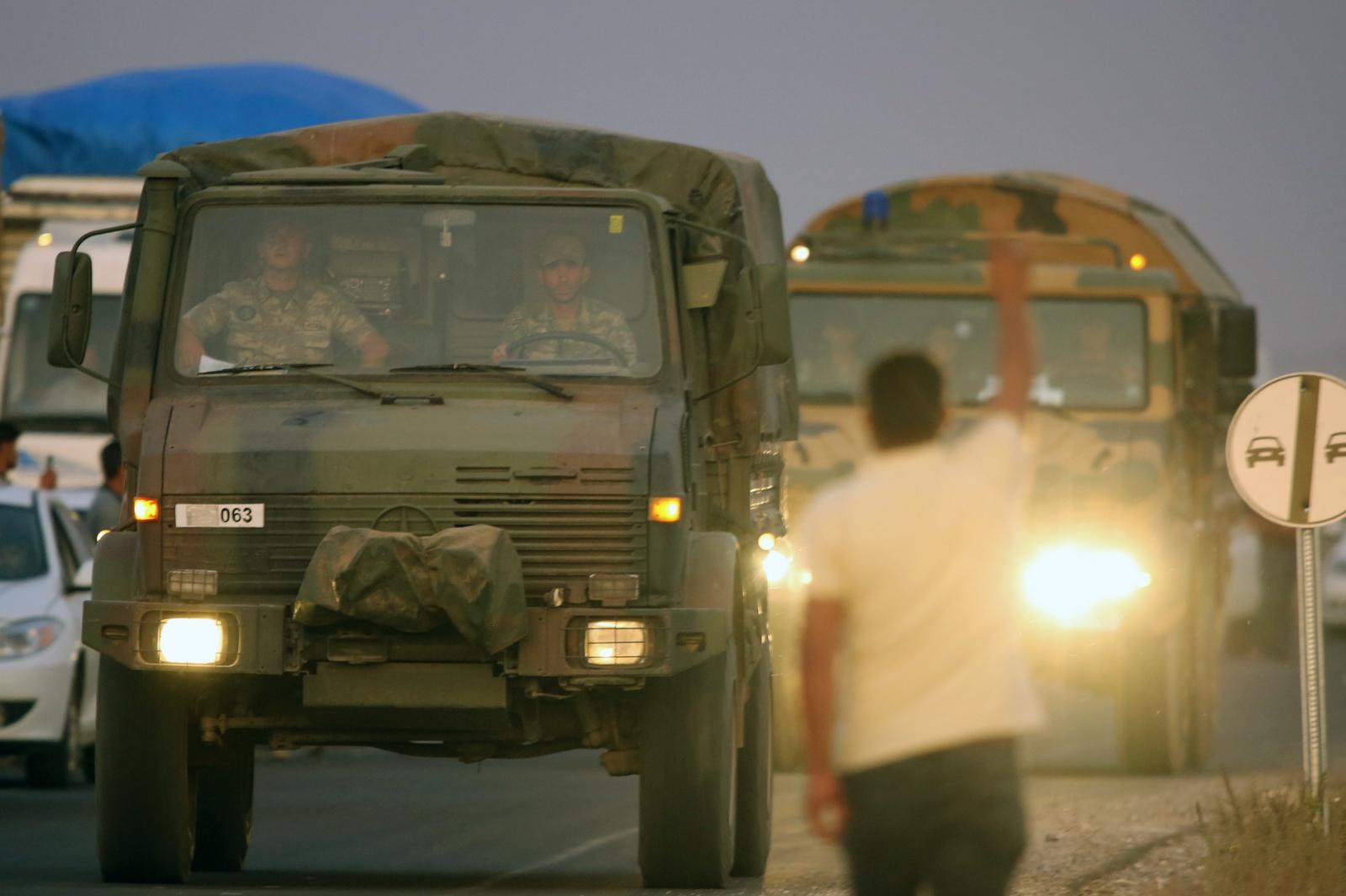 Turecka operacja militarna  fot. EPA/STR
