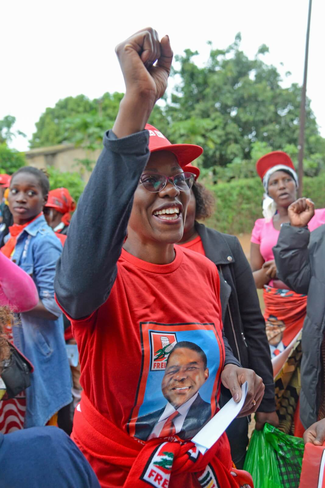 Wybory w Mozambiku fot. EPA/ANTONIO SILVA