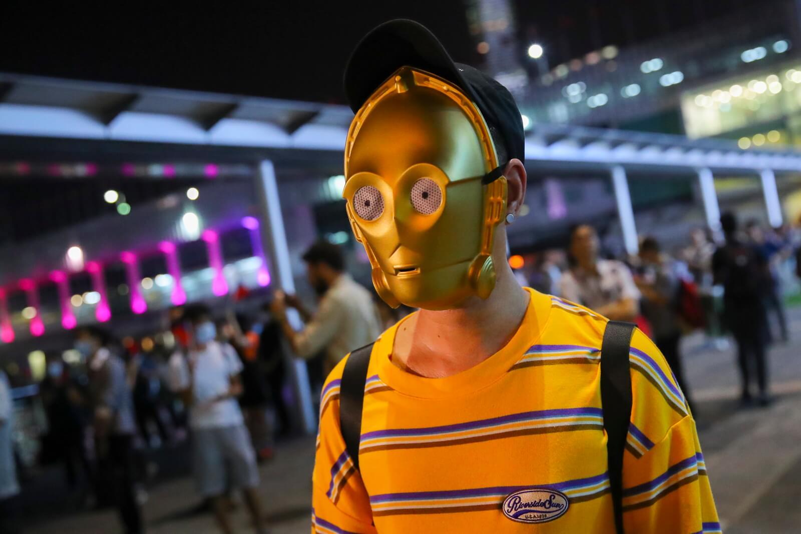 Protsety w Hong-Kongu ciągle trwają fot. EPA/FAZRY ISMAIL