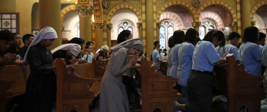 modlitwa Tajlandia zakonnica