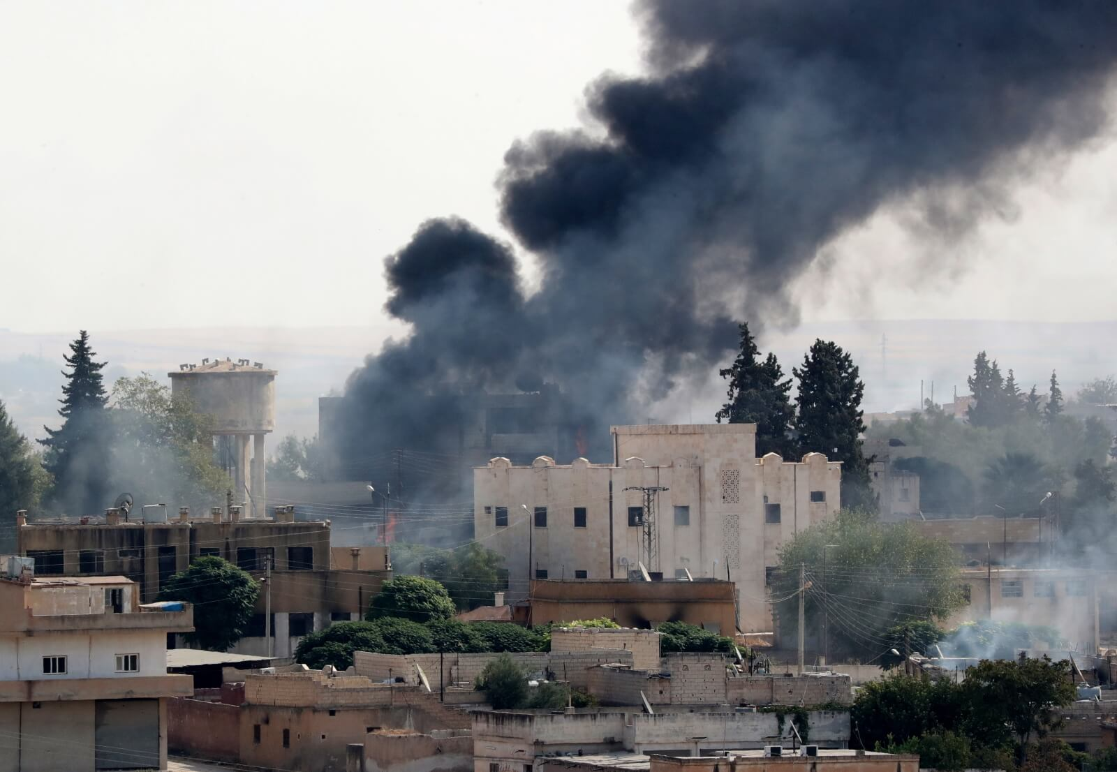Turecka operacja w Syrii fot. EPA/ERDEM SAHIN