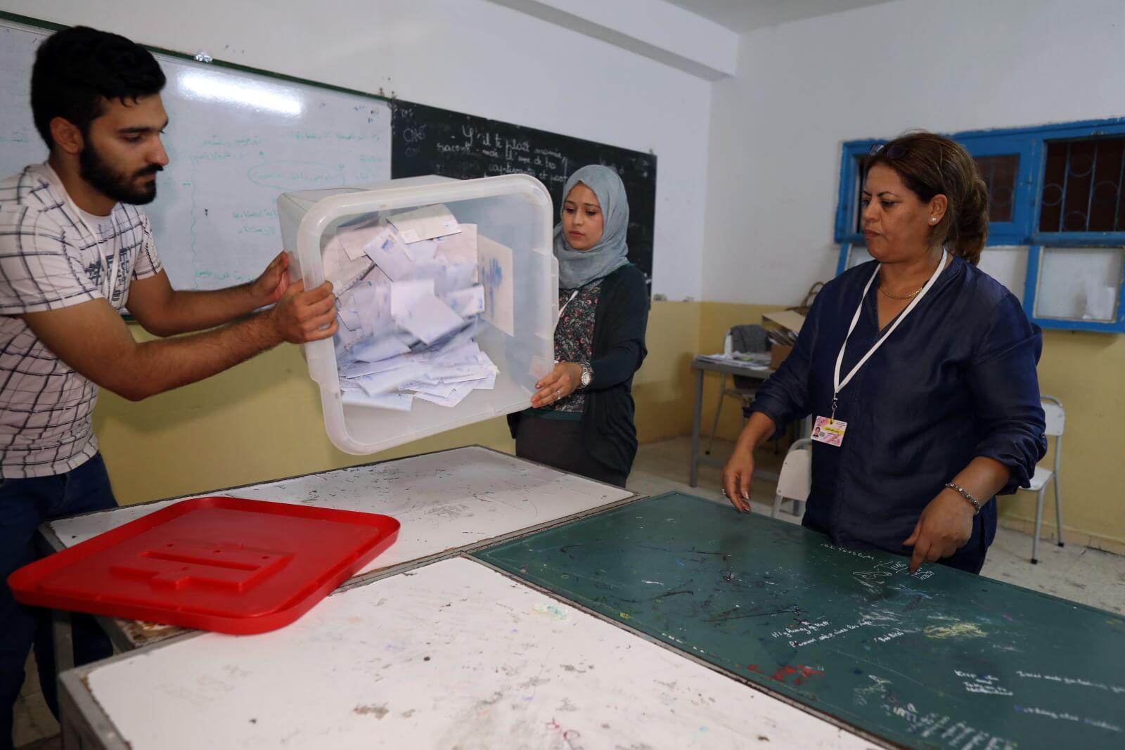 Wybory prezydenckie w Turcji fot. EPA/MOHAMED MESSARA