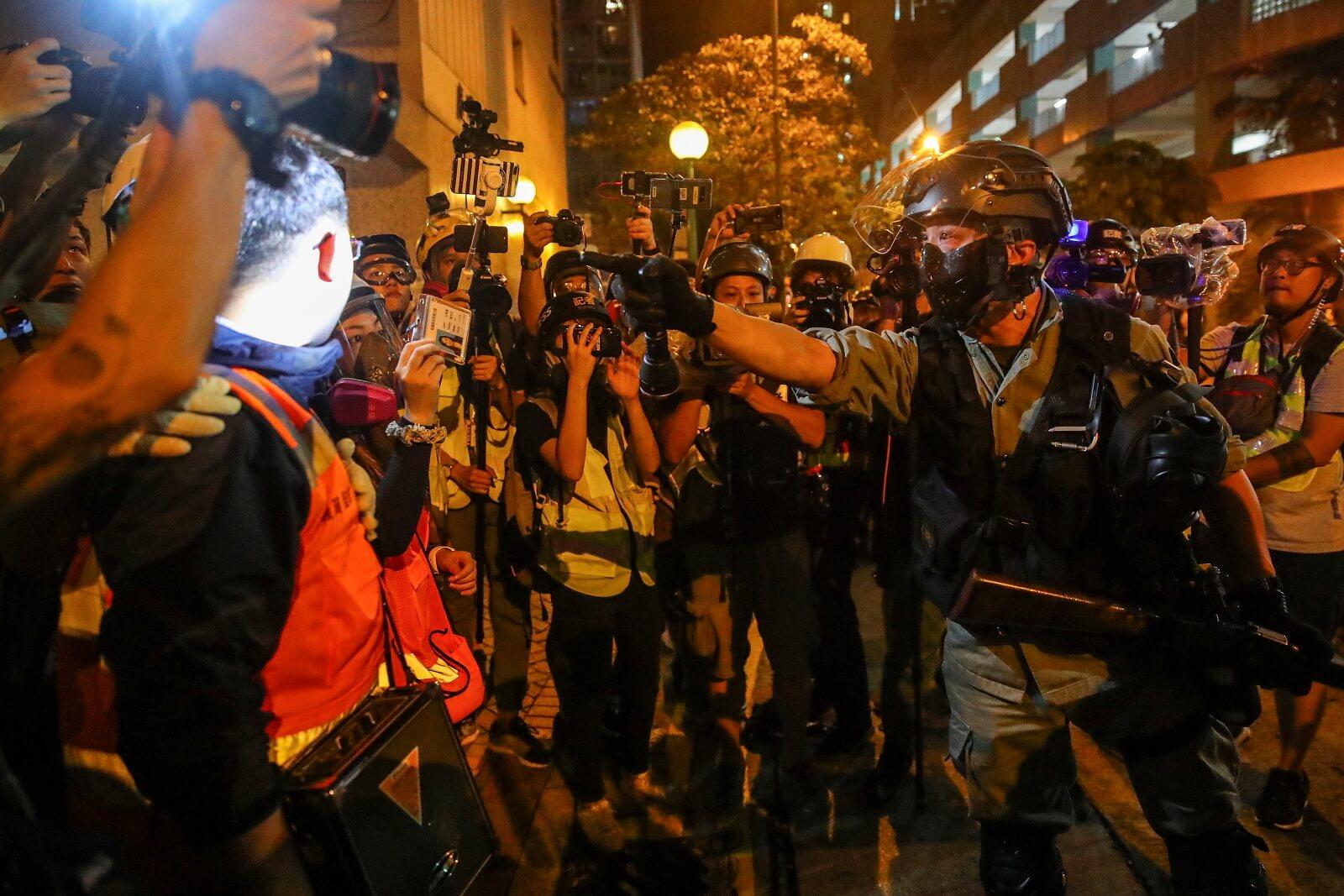 Protesty w Hong Kongu ciągle trwają fot. EPA/FAZRY ISMAIL