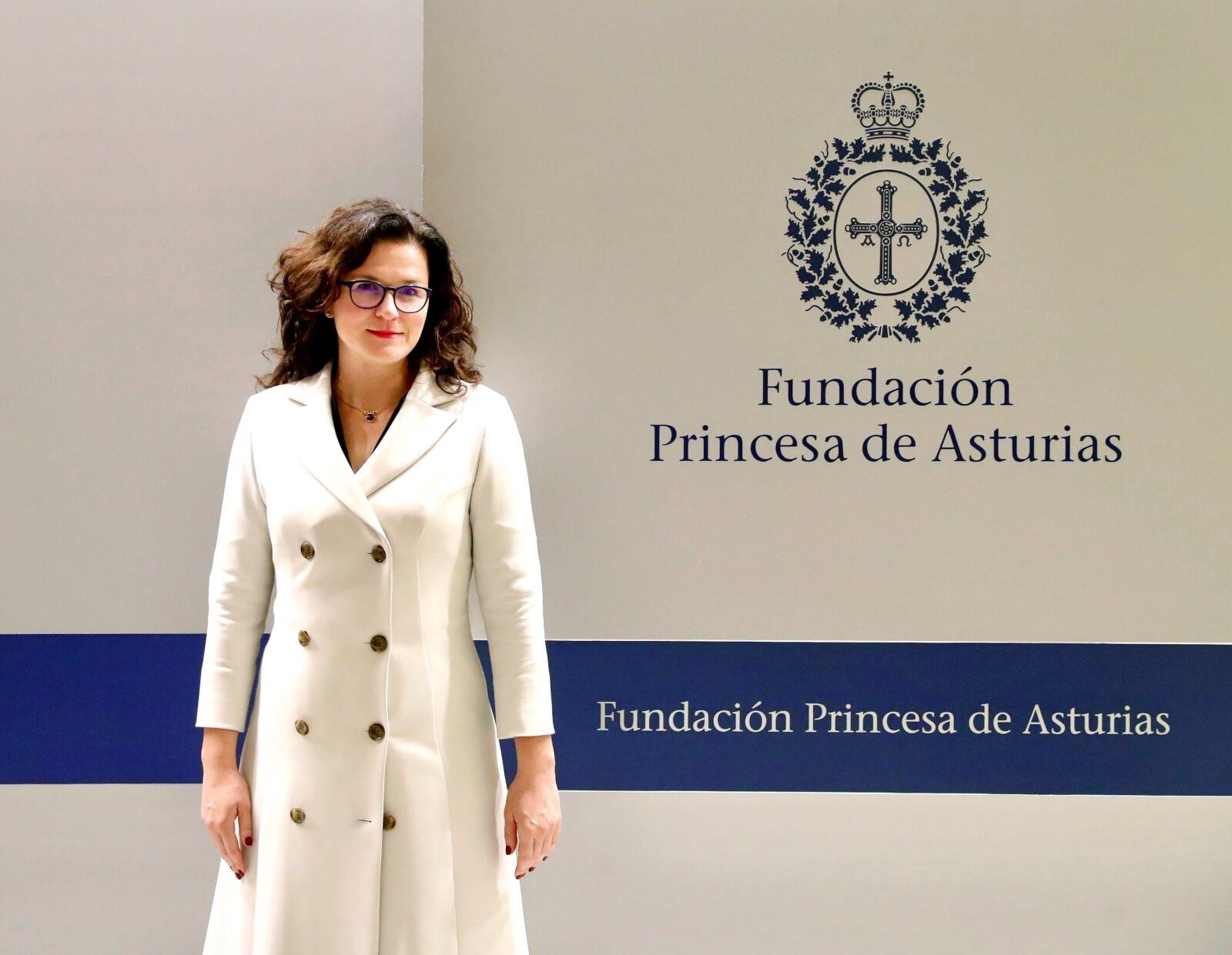 Aleksandra Dulkiewicz nagrodzona Nagrodą Księżnej Asturii w kategorii Zgoda fot. EPA/J.L.Cereijido