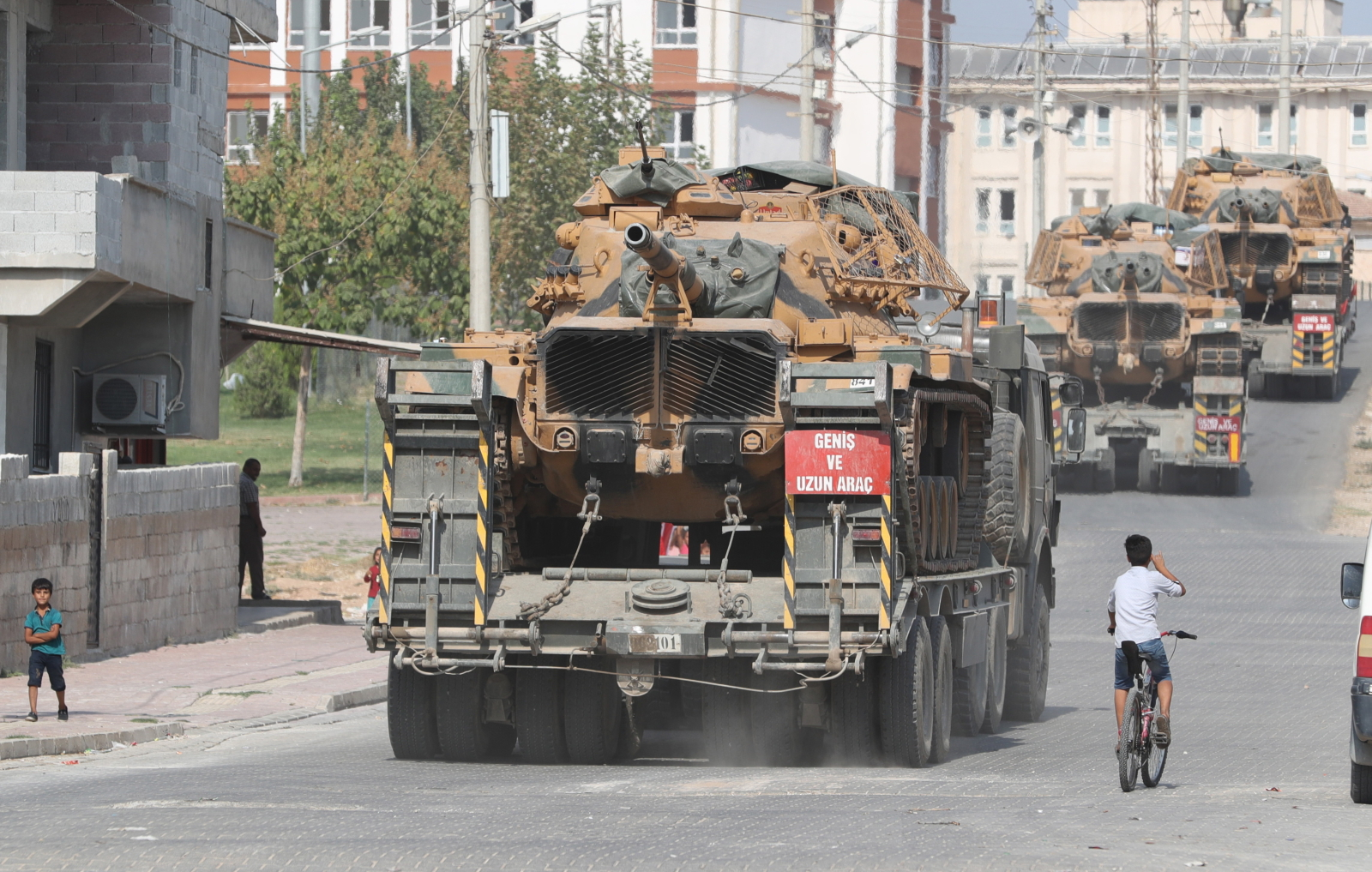 Turecka operacja wojskowa w Syrii EPA/SEDAT SUNA
