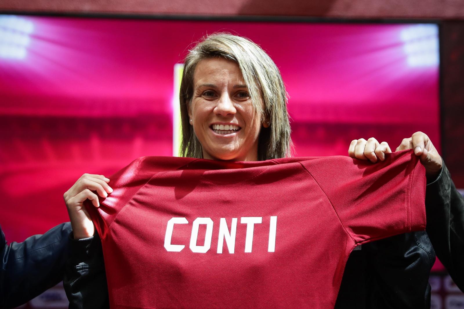 Pamela Conti została trenerem reprezentacji piłki nożnej kobiet w Wenezueli EPA/Rayner Pena