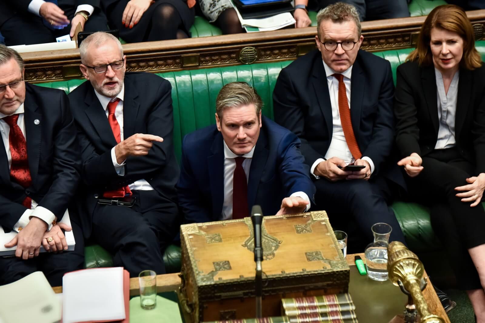 Głosowanie nad Brexitem w brytyjskim parlamencie fot. EPA/STEPHEN PIKE