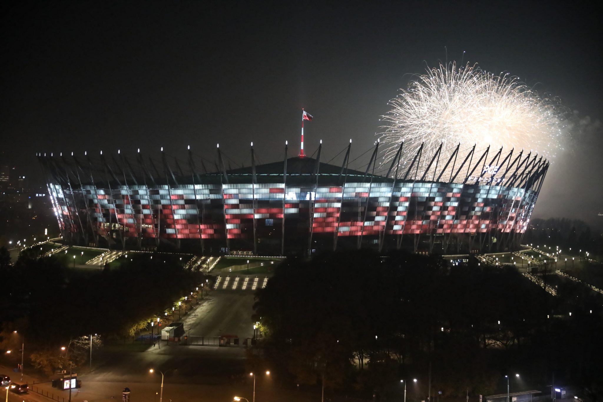 Warszawa: kulminacja obchodów 101. rocznicy odzyskania przez Polskę niepodległości, fot. PAP/Leszek Szymański