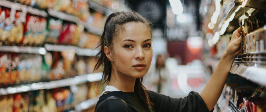 kobieta sklep