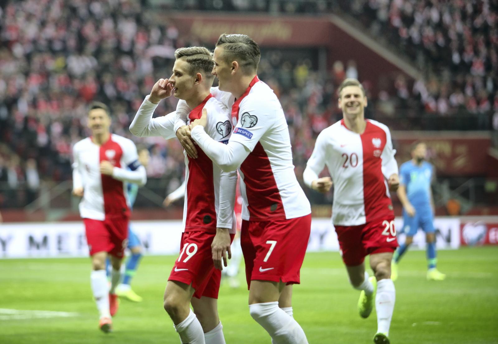 Polska vs Słowenia fot. PAP/Leszek Szymański