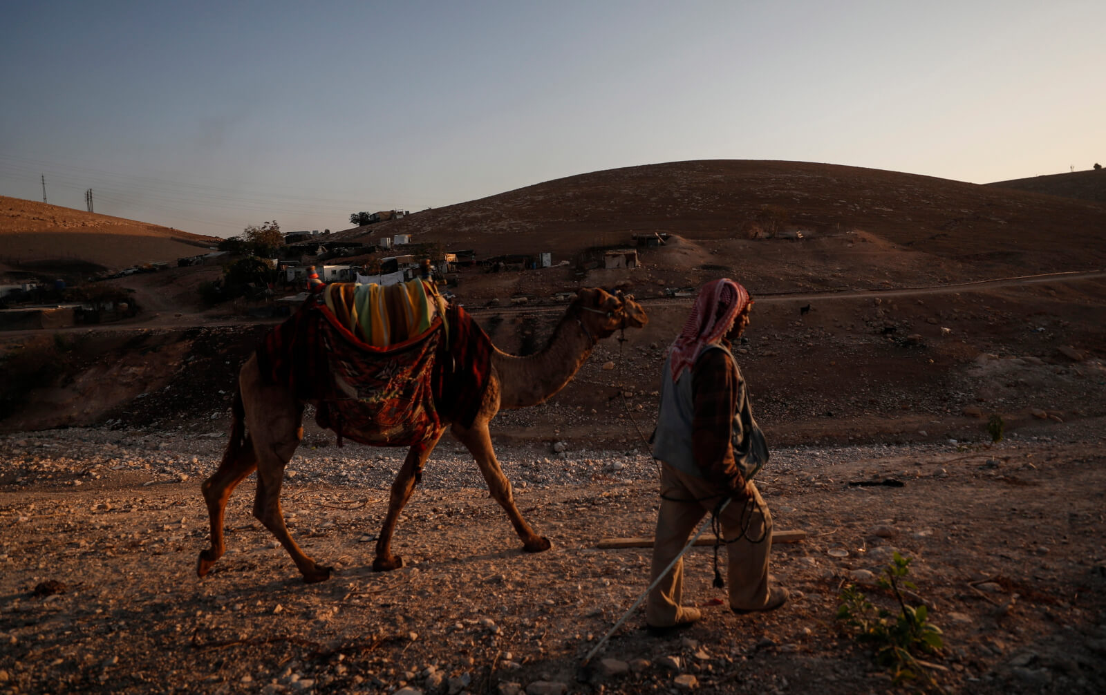 Palestyna fot. EPA/ATEF SAFADI