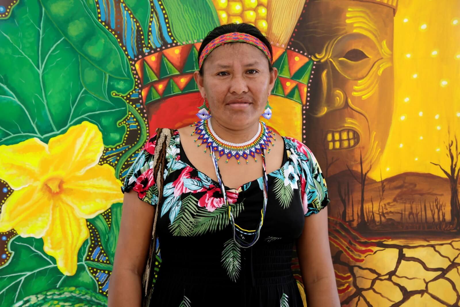 Rodzima ludność Kolumbii fot. PA/RICARDO MALDONADO ROZO