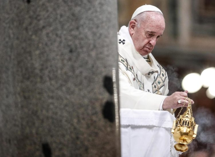 Papież Franciszek fot. EPA/GIUSEPPE LAMI