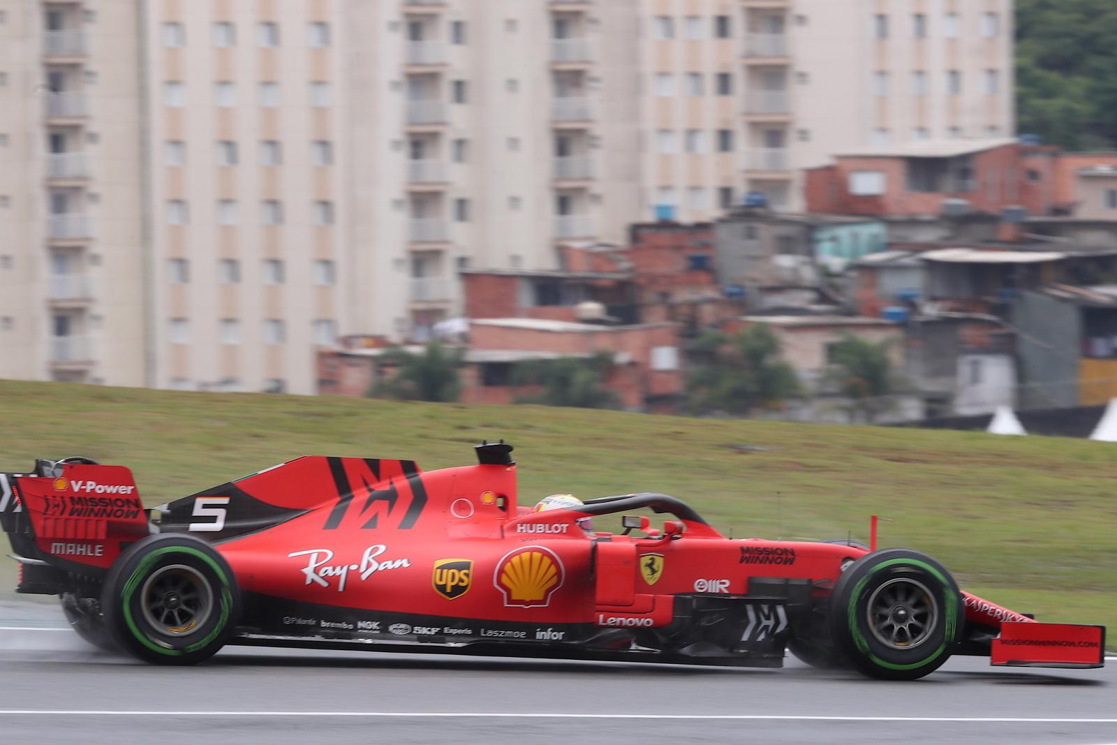 Formuła w Brazylii fot. EPA/Fernando Bizerra Jr.