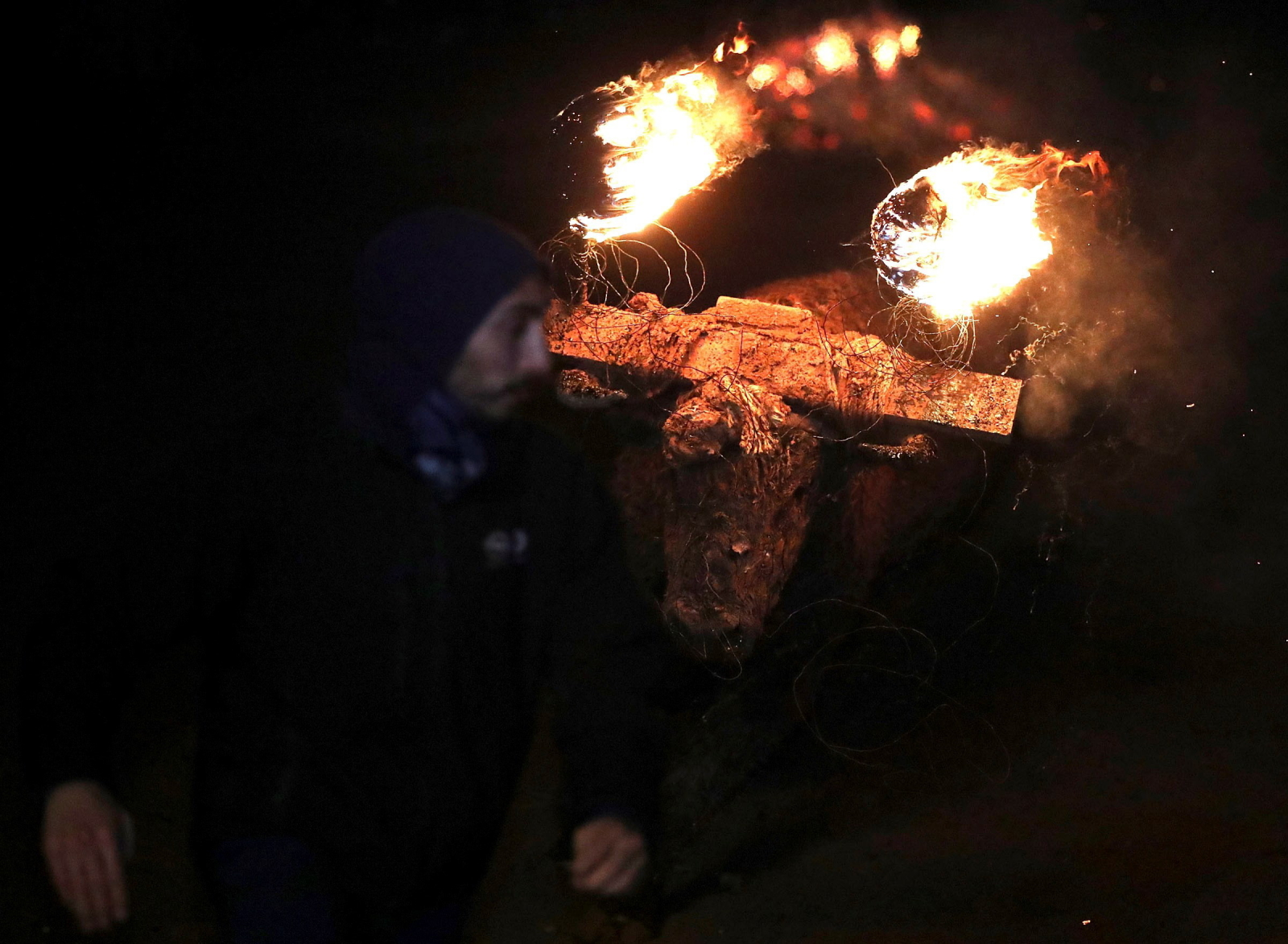 Festiwal ognia fot. EPA/WIFREDO GARCIA