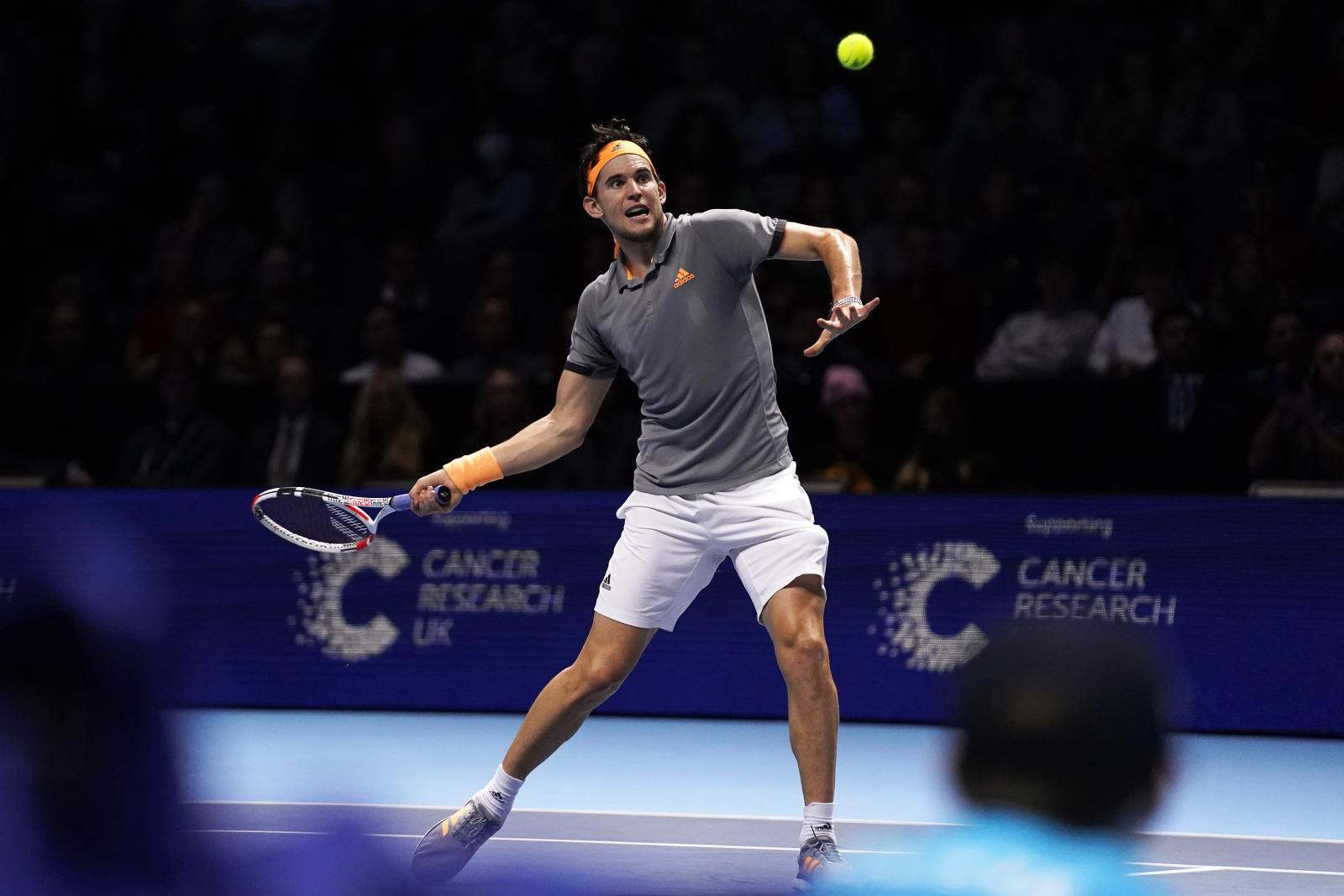 MEcz tenisa fot. EPA/WILL OLIVER