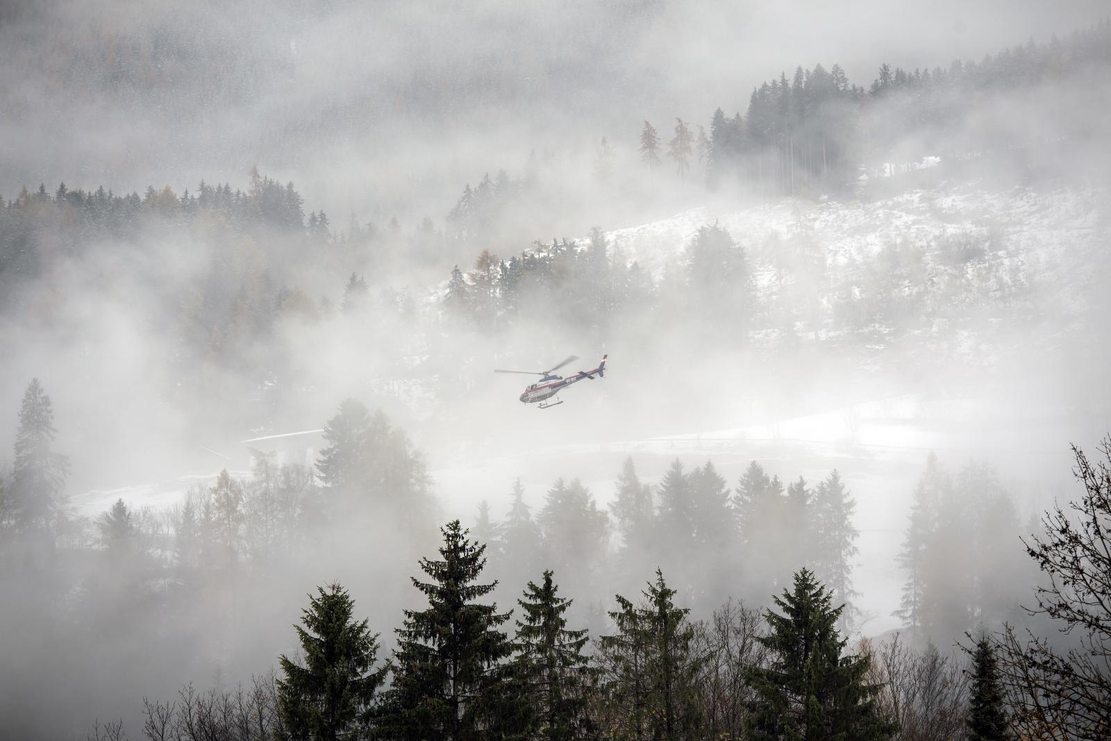 Pogoda w Austrii fot. EPA/CHRISTIAN BRUNA
