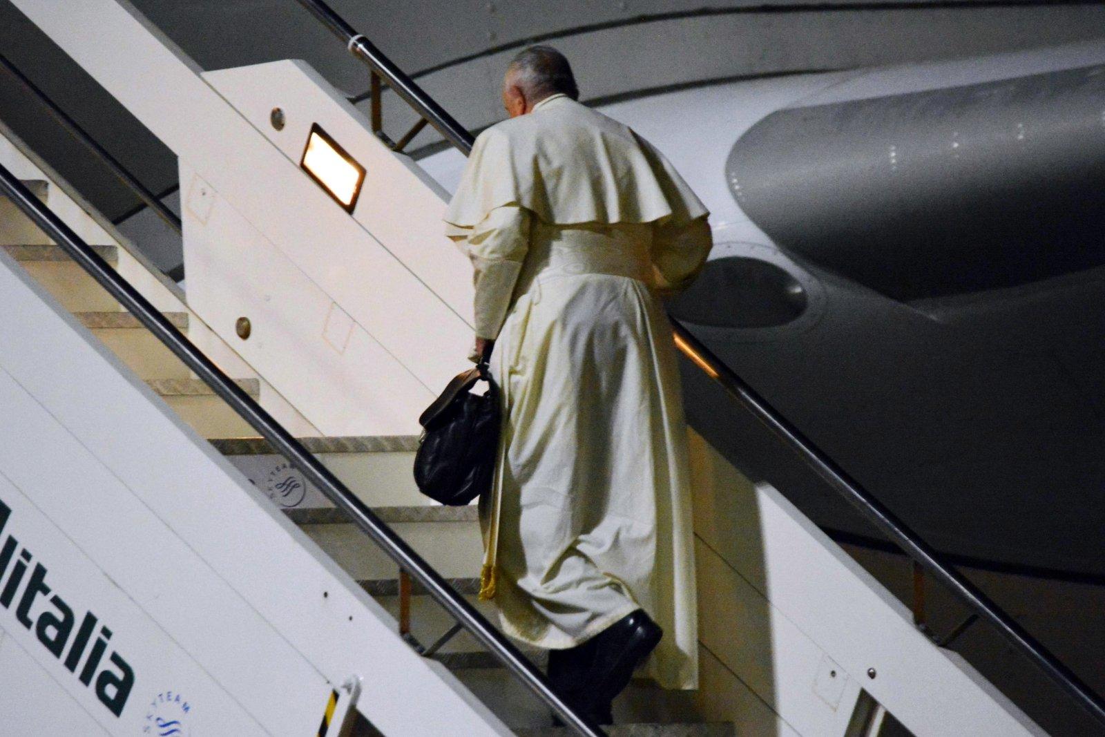Papież leci do Tajlandii fot. EPA/TELENEWS