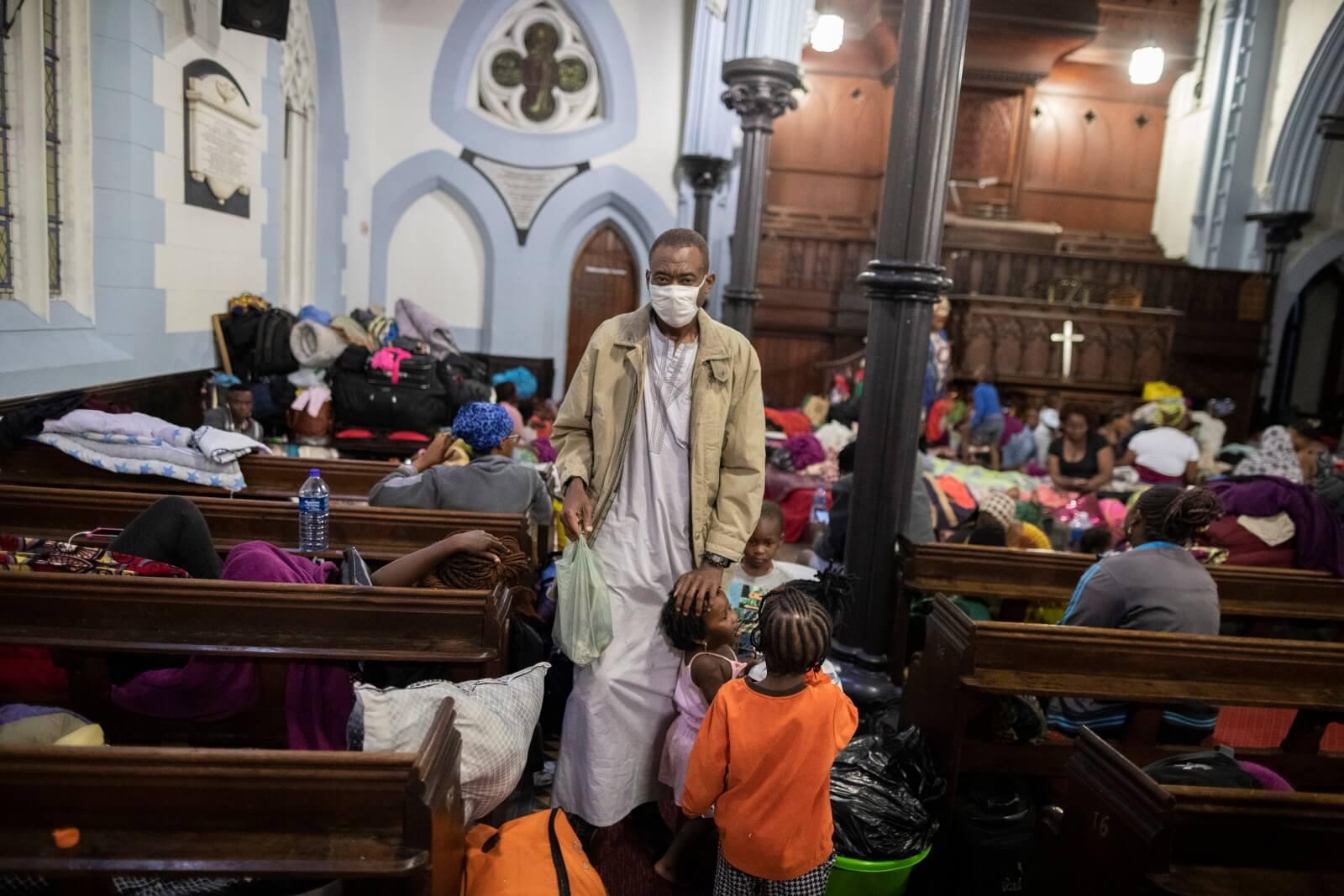 Kryzys migracyjny w południowej Afryce fot. EPA/NIC BOTHMA