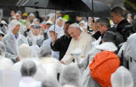 papież w Japonii