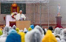papież Franciszek w Japonii
