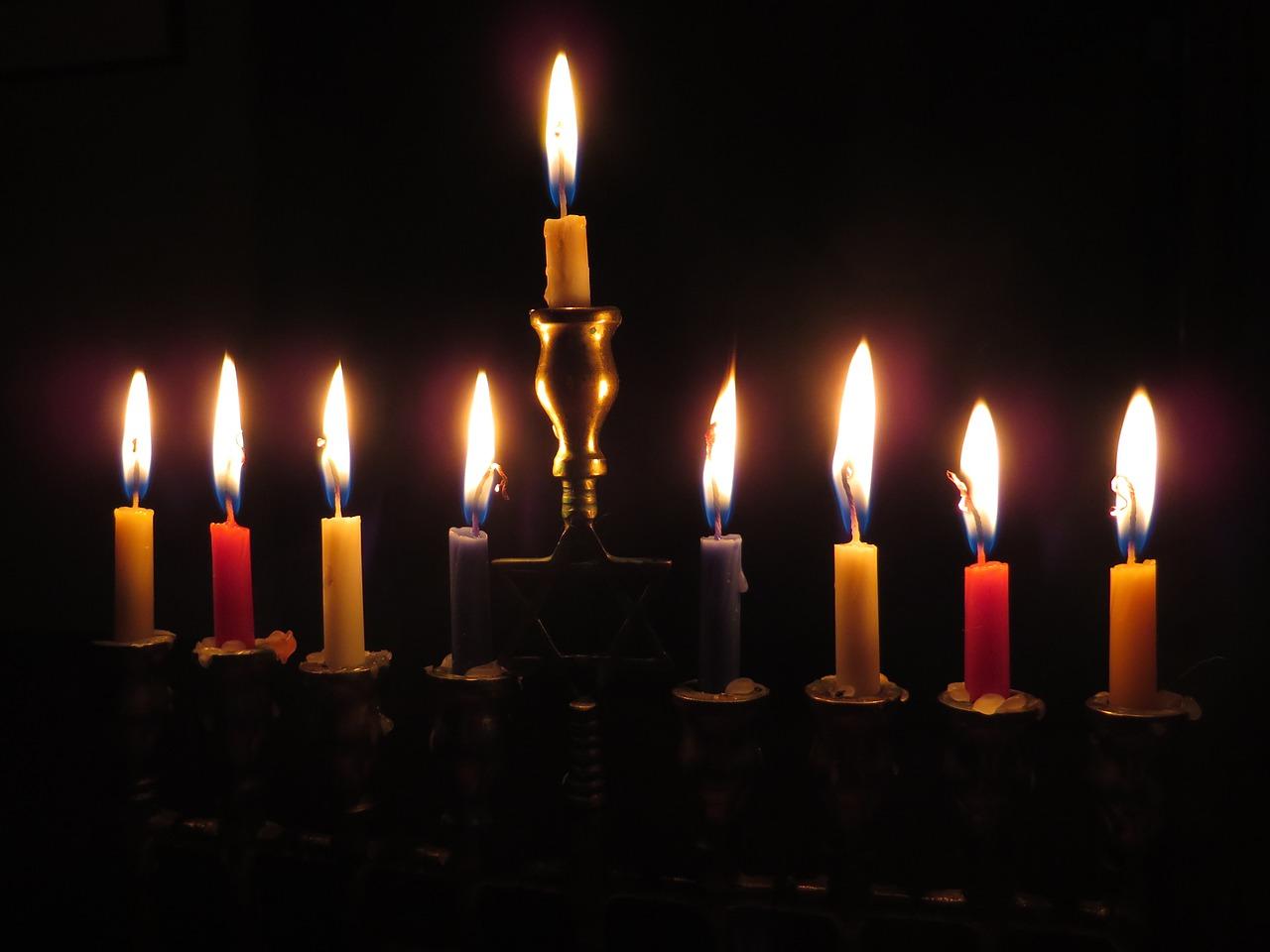 świece chanuka