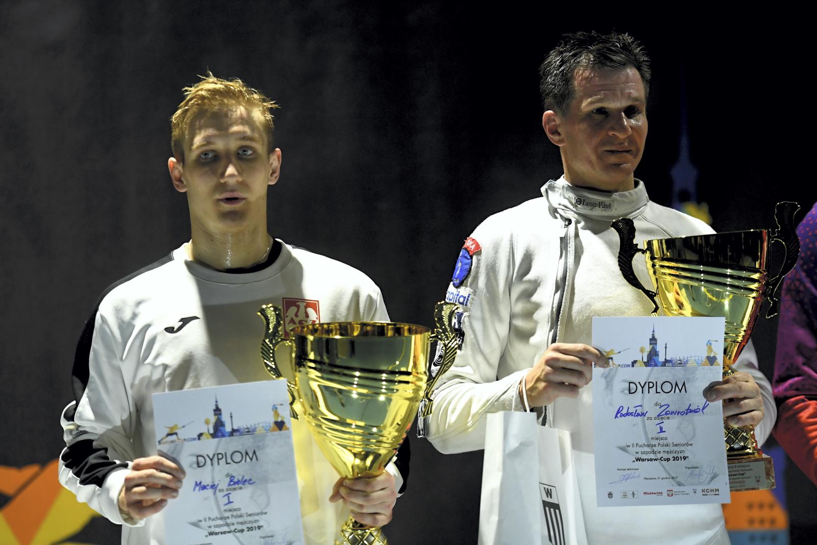 Mistrzostwa Polski w szermierce fot. PAP/Piotr Nowak
