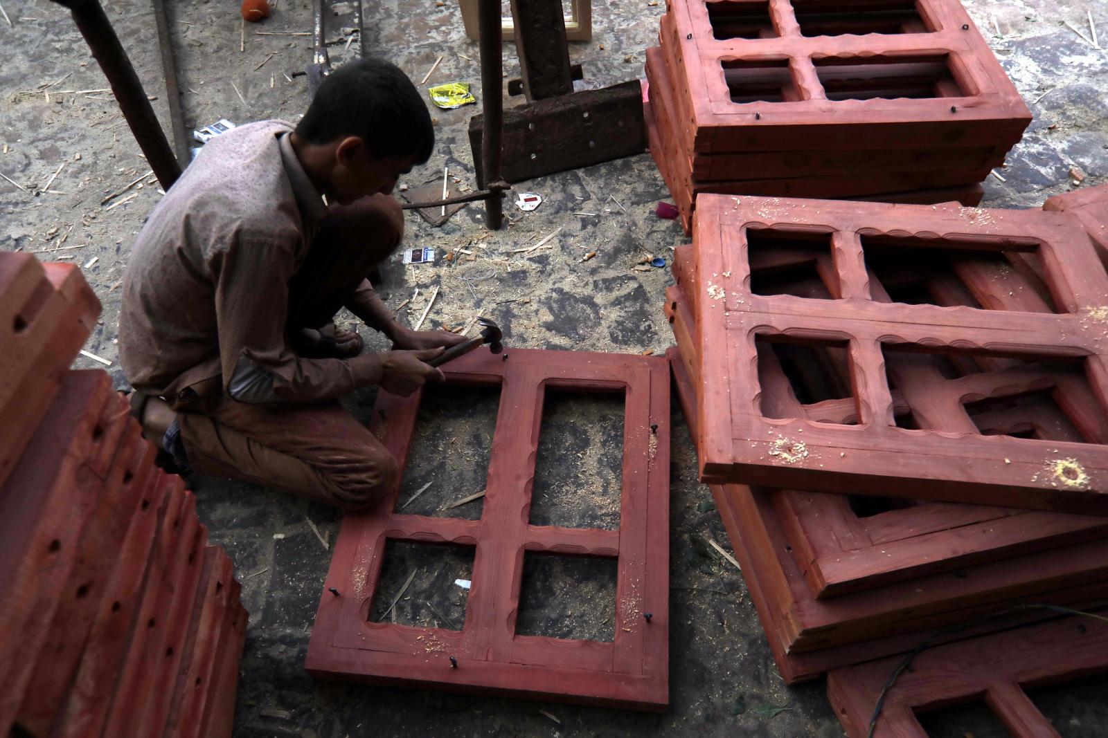 Dzień w Jemenie fot. EPA/YAHYA ARHAB
