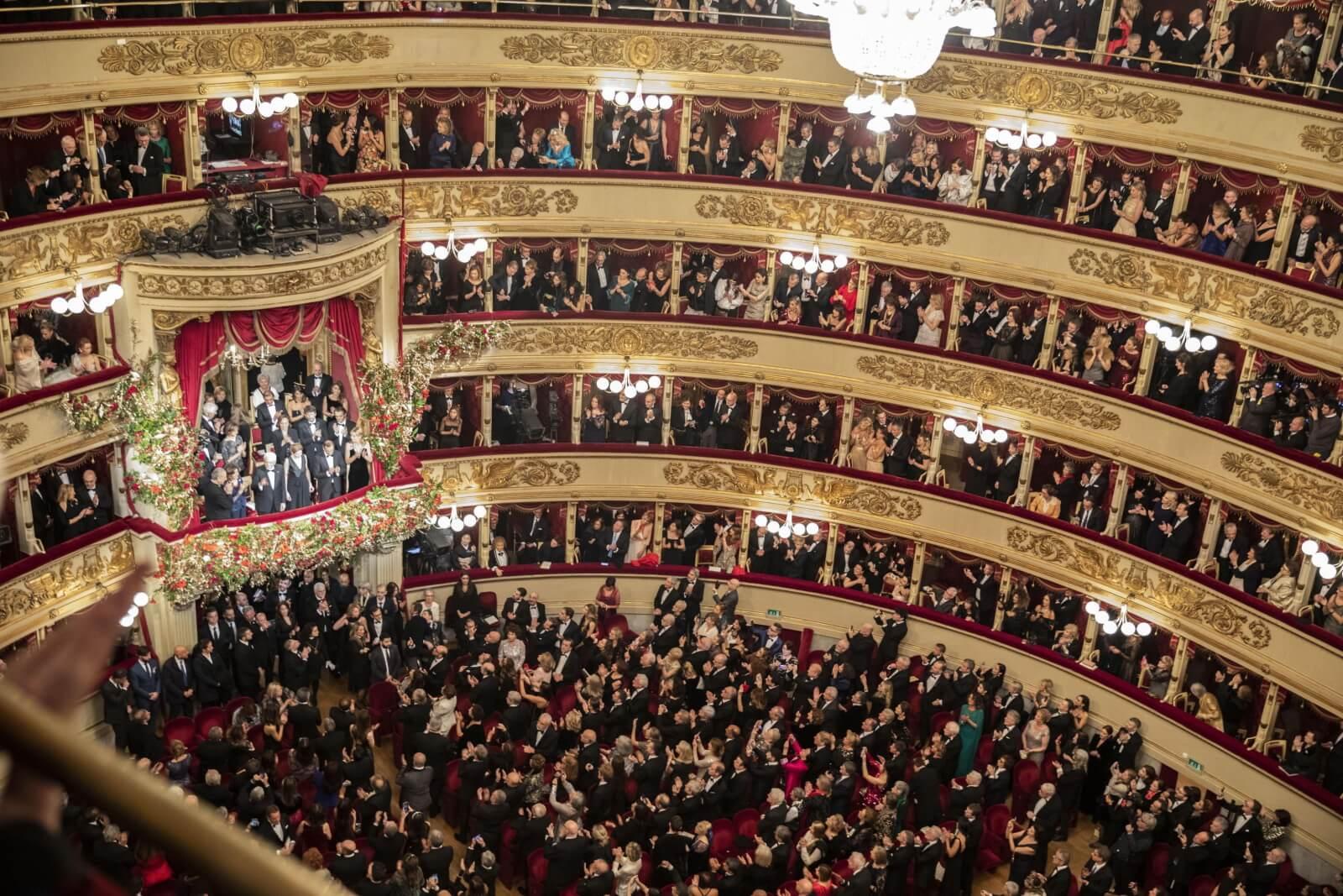 Opera La Scala fot. EPA/Ufficio stampa La Scala