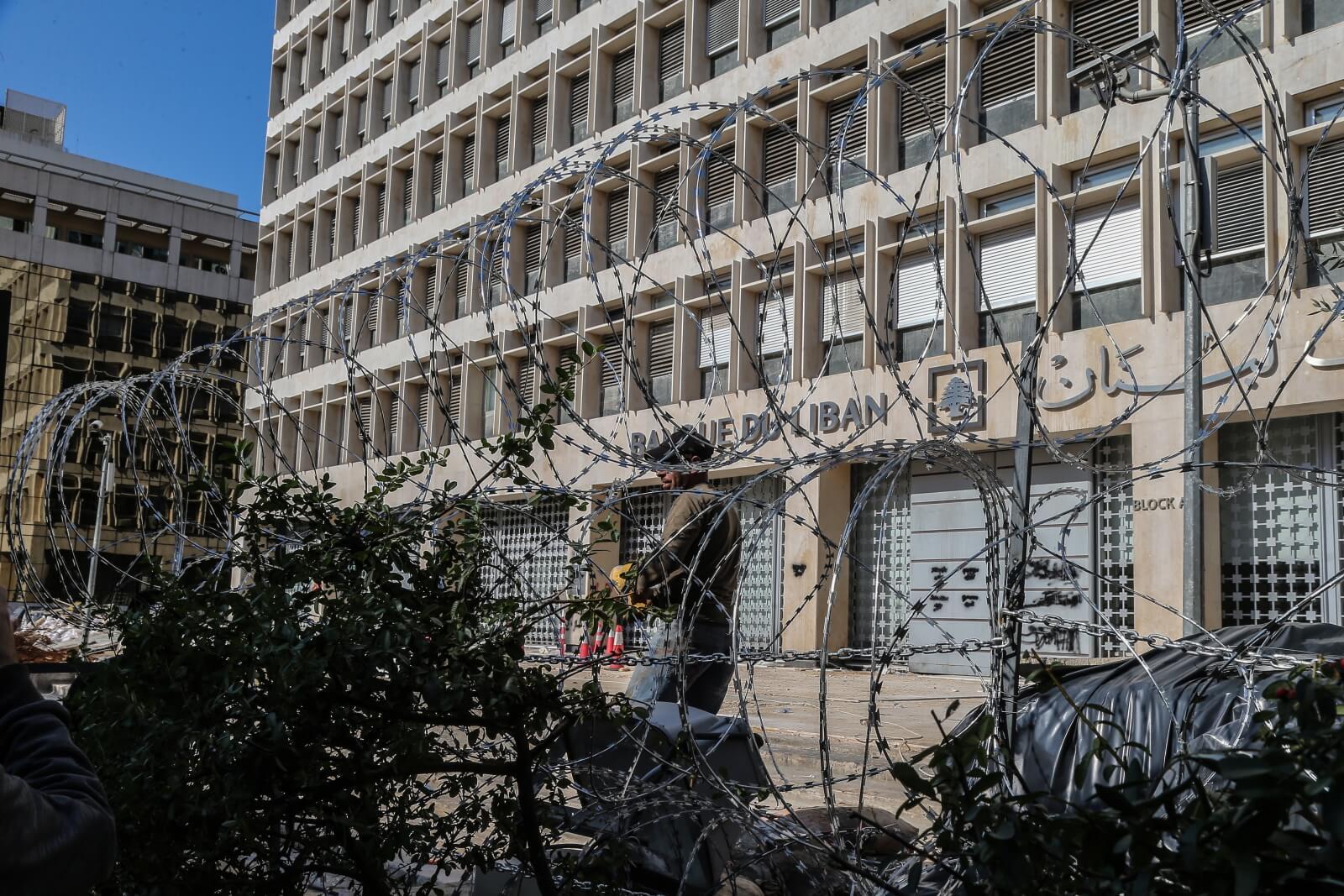 Protesty w Lebanonie ciągle trwają fot. EPA/NABIL MOUNZER