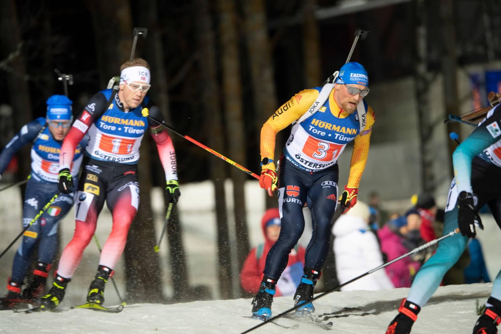 Szwecja: Puchaś Świata w biatlonie fot. EPA/FREDRIK SANDBERG