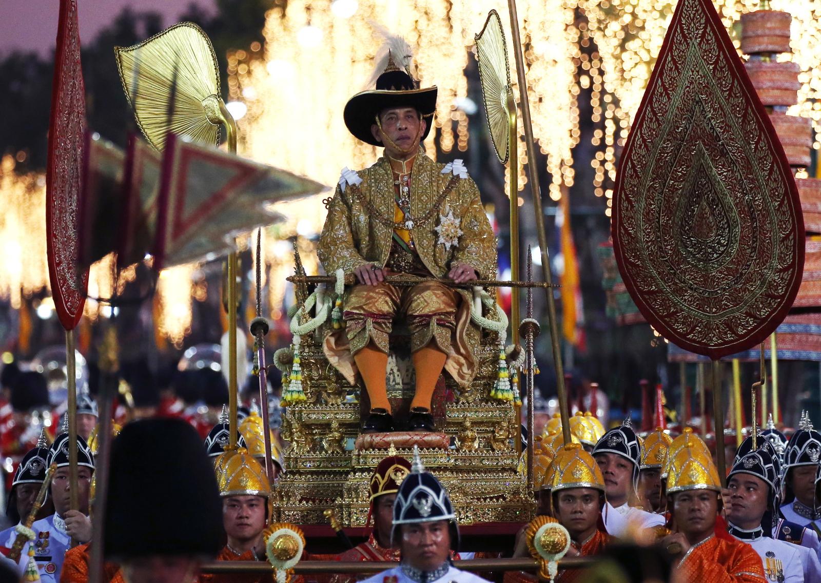 Koronacja w Tajlandii EPA/NARONG SANGNAK