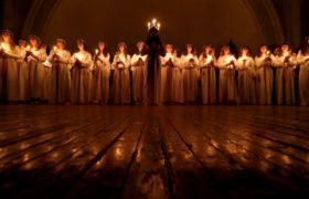 Dzień św. Łucji w Sankt Petersburgu fot. EPA/ANATOLY MALTSEV