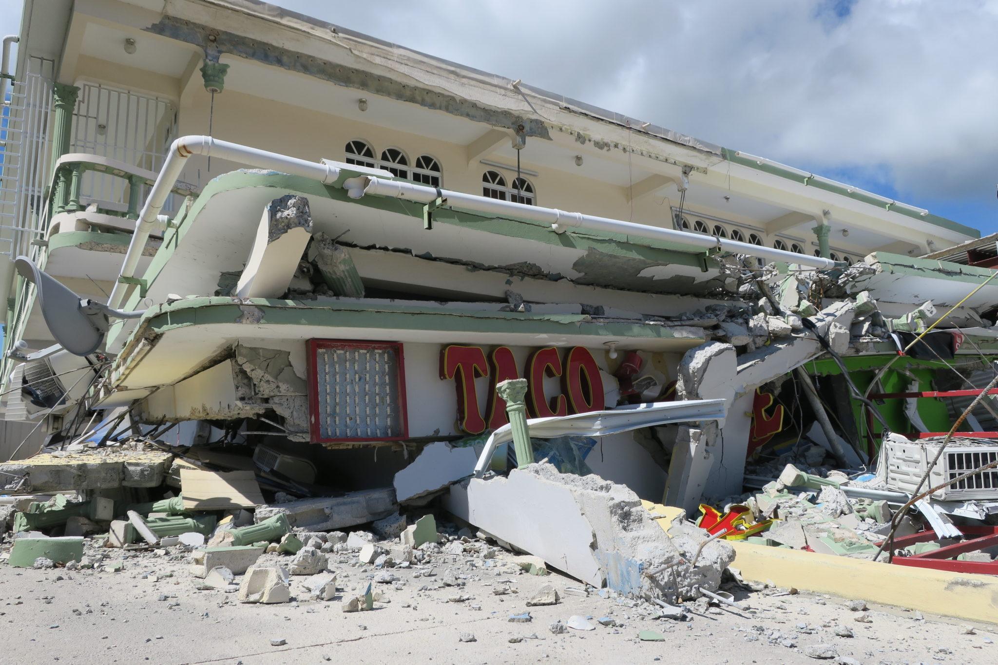 Trzęsienie ziemi w Puerto Rico. fot. EPA/Jorge Muniz