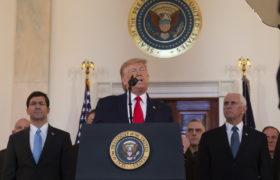 Donald Trump. fot. EPA/TASOS KATOPODIS