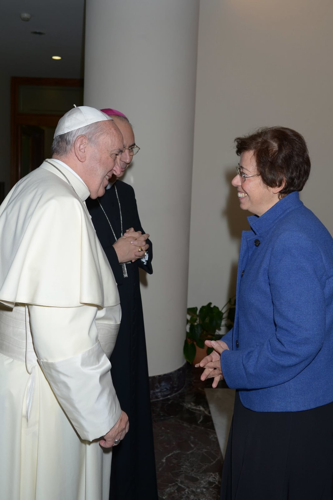 Papież mianował Francescę Di Giovanni na podsekretarz Stanu fot. EPA/VATICAN MEDIA