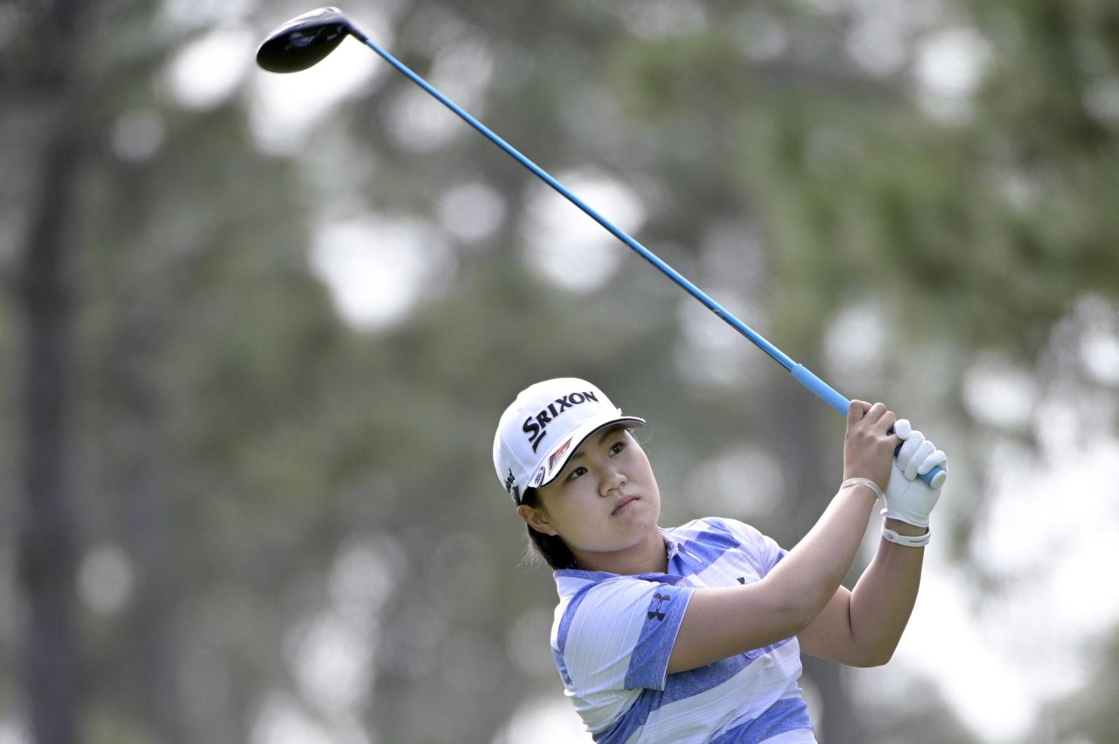 Zawody w golfa fot. EPA/PHELAN EBENHACK