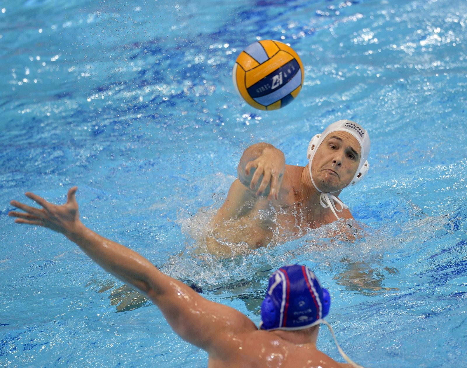 Mistrzostwa Europy w waterpolo w Budapeszcie, Węgry Fot. PAP/EPA/BALAZS CZAGANY